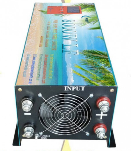 Invertor UPS/ATS LF sinus pur Power Jack 5kW/24V/230V, 8kW/48V/230V