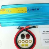 Invertor Sinus pur, Putere 2000W, 2500W 24V/220V, 50Hz.
