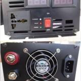 Invertoare UPS, charger retea, sinus modificat 2500W/24V, 220V, 50Hz