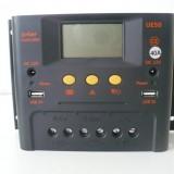 Controler solar-eolian 40A/12V/24V