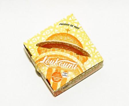 Loukoumi - Rahat cu portocale, scortisoara, bergamot si Mastiha 70 g