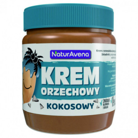 Unt de arahide cu cocos - 100% natural 340 g