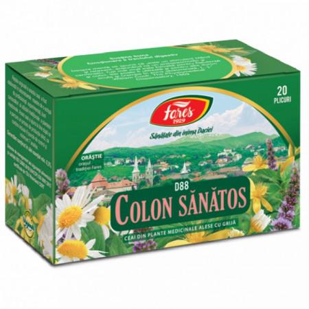 Ceai colon sanatos Fares 20 doze