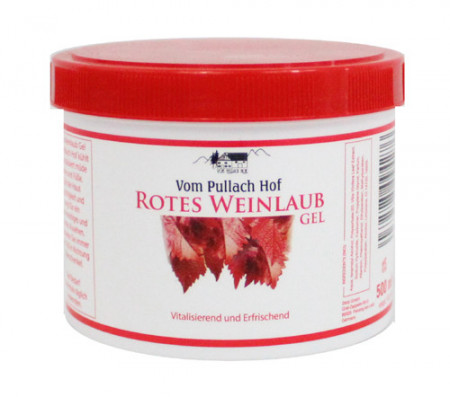 Gel cu frunza de vita de vie rosie 500 ml