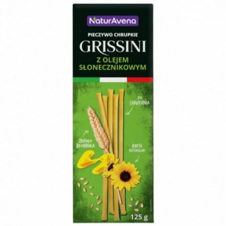 Grisine stiks cu ulei de floarea soarelui 125 g