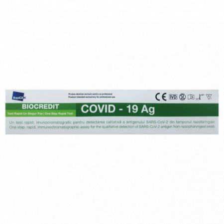 Test rapid Covid-19 Antigen-Rapigen Biocredit