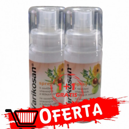 Pachet spray Varikosan 75ml 1+1 GRATIS