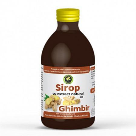 Sirop de Ghimbir cu zahar 250 ml