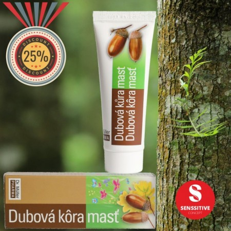 Unguent cu scoarta de stejar 50 ml (Hemoroizi si fisuri anale)