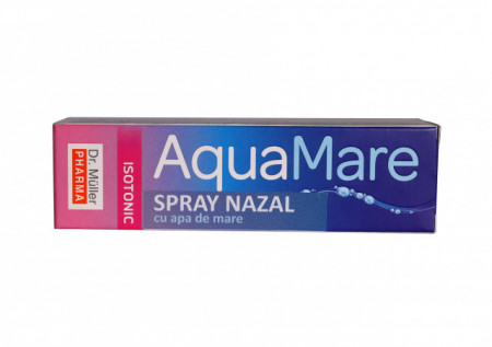 Aqua Mare Spray nazal cu apa de mare Izotonic 20 ml