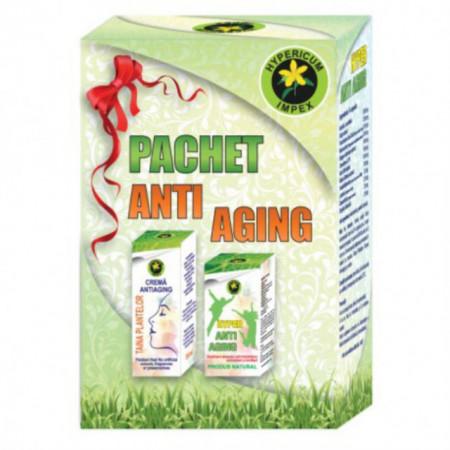 Pachet Antiaging Capsule + Crema