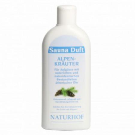 Parfum concentrat pentru sauna 250 ml - Ierburi Alpine