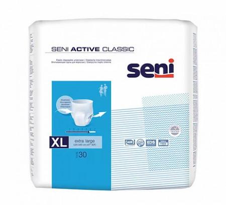 Scutece adulți chilot SENI ACTIVE CLASSIC XL 30 buc