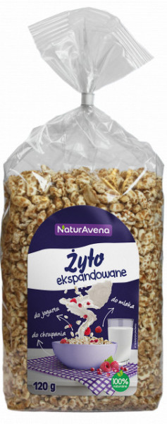 Secara expandata NaturAvena 120 g – 100 % natural