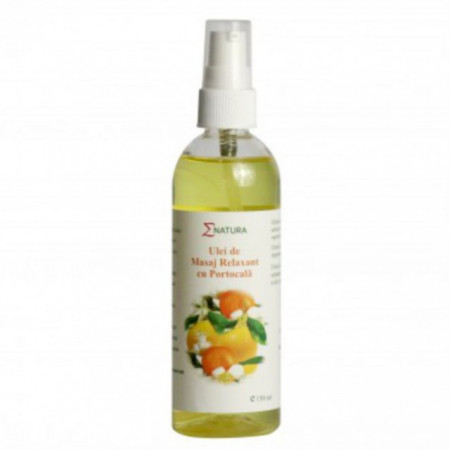 Ulei de masaj relaxant cu portocala 150 ml