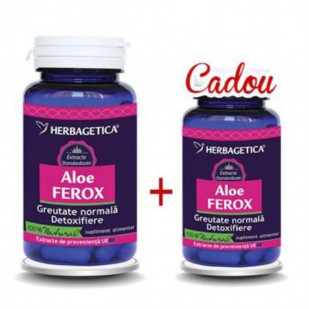 Aloe Ferox 60cps +10cps Cadou