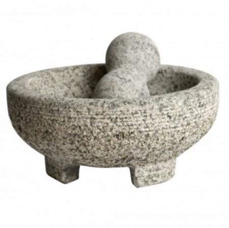 Mojar cu pistil din granit 9 x 20 cm