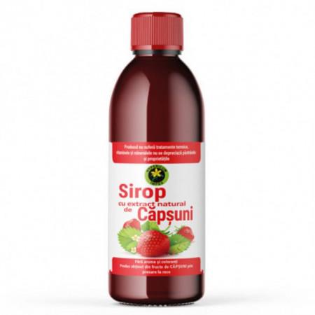 Sirop de capsuni cu zahar Hypericum 500 ml