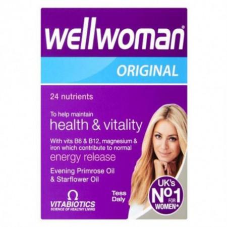 Wellwoman Original Vitabiotics 30 cps