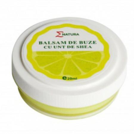 Balsam de buze cu unt de shea 20 ml