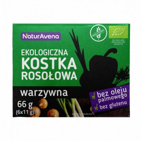 Cub pentru supa cu aroma de legume (6x11gr) ECO 66gr