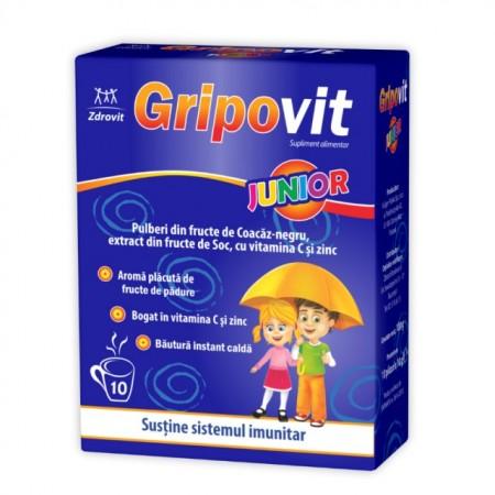Gripovit Junior 10 plicuri