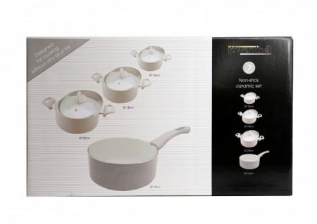 Set oale ceramice antiadezive 7 piese