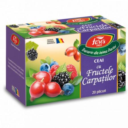 Ceai cu fructele Carpatilor Fares 20 doze