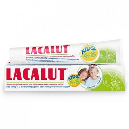 Lacalut Pasta de dinti pentru copii 50 ml + periuta cadou