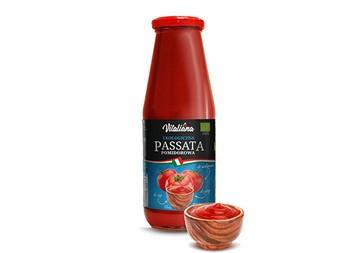 Pasta de Rosii clasica ECO 680gr