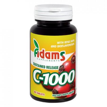C-1000 cu macese 60tablete Adams Supplements