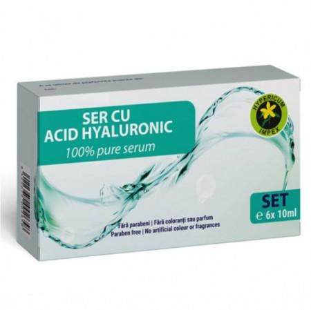 Ser cu Acid Hialuronic 6 fiole x 10 ml