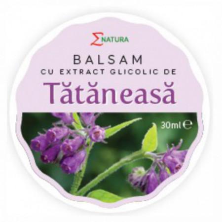 Balsam cu extract glicolic de tătăneasă 30 ml