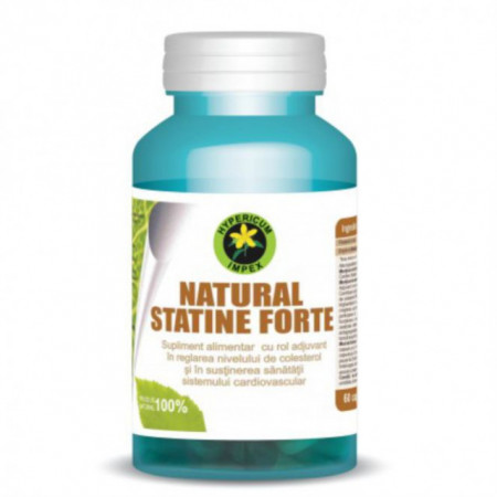 Capsule Natural Statine Forte 60 cps