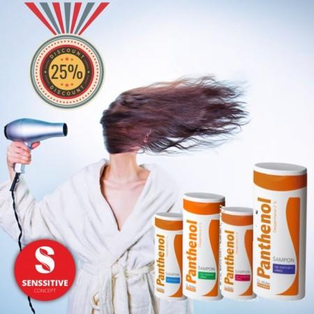 Panthenol Sampon pentru par normal 250 ml