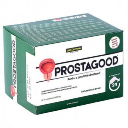 ProstaGood 60 comprimate x 625mg Only Natural