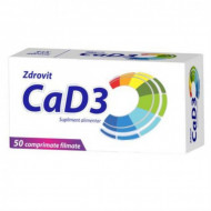 Ca+D3 50 cpr Zdrovit