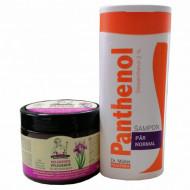 Pachet sampon pentru par normal panthenol 250ml + Masca pentru stralucirea si rezistenta tuturor tipurilor de par 300 ml