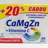 CaMgZn + Vitamina C 60 plicuri