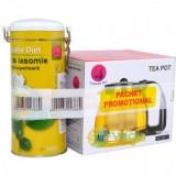 Pachet Ceai Iasomie Superior 100 g + Ceainic 1250 ml
