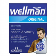 Wellman Original Vitabiotics, 30 tbl
