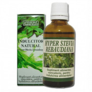 Indulcitor Natural Hyper Stevia Rebaudiana 50 ml
