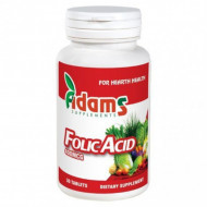 Acid folic 400mcg 30 tb Adams Vision