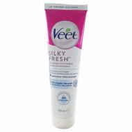 Crema depilatoare pentru pielea sensibila VEET Silk & Fresh 100ML