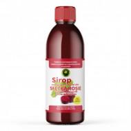 Sirop Sfecla Rosie cu indulcitor natural Stevia Rebaudiana 500 ml