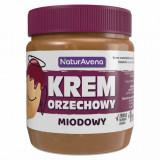 Unt de arahide prajite cu miere 100% natural 340 g