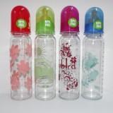 Biberon sticla 250 ml - tetina silicon (0-7 luni)