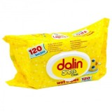 Dalin Servetele umede soft & clean 120 buc