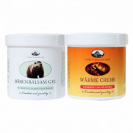 Pachet Balsam gel de urs 250ml + Crema cu efect de incalzire 250ml