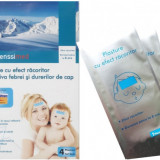 Plasture cu efect racoritor impotriva febrei - 4 buc